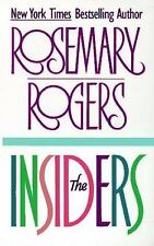 The Insiders by Rosemary Rogers (1979, Paperback) CC348