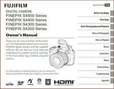 eBook: FujiFilm FinePix Owners Manual in PDF S4500 S4400 S4300 S4350 S4200