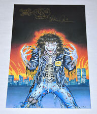 Evil Ernie Special Limited Edition 1 Signed and Sketched On Back Cover