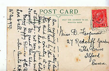 Genealogy Postcard - Family History - Ferguson - The Drive  Ilford - Essex A1081