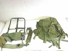 VINTAGE MILITARY COMBAT FIELD PACK MODEL LC-1 MEDIUM NYLON WITH THE FRAME