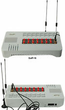 16 GSM gateway GoIP voip gateway support IMEI change sim bank SMS server