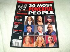 WWE Wrestling Magazine December 2003 Powerful People