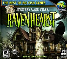 Mystery Case Files Ravenhearst PC Games Windows 10 8 7 XP Computer hidden object