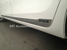 MIT Toyota 2014-on outside door body side molding chrome lower-ALTIS