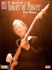 The Best of Tower of Power for Bass Guitar Learn Funk Fusion TAB Music Book