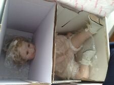 SHIRLEY TEMPLE Toddler Collection Little Miss Shirley Porcelain Doll+paperwork