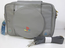 Official Genuine Sony Playstation Ps1 Messenger Bag Gray Carry Case Shoulder New