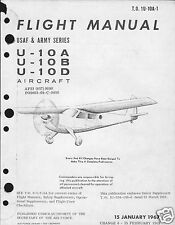 Helio U-10 Courier collectible Manual Archive rare detail 1960's / Vietnam