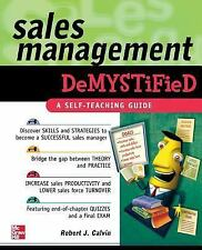 Sales Management Demystified-ExLibrary
