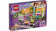LEGO Friends Kids Amusement Park Bumper Cars Car Includes 2 Mini Dolls 41133
