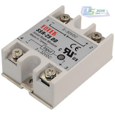 5V-80V 25A SSR-25 DD Solid State Relay Module Input 3-32V DC to DC High Quality