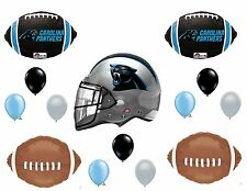 CAROLINA PANTHERS Football Party balloons Decorations Supplies Birthday 14pc