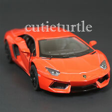 Kinsmart Lamborghini Aventador LP700-4 1:38 Diecast Toy Car Orange