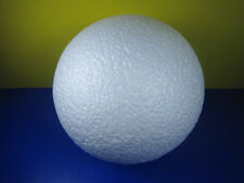 NEW 1 PC WHITE COLOR STYROFOAM BALL FOR ART/ CRAFT 10 INCHES DECOR FREE SHIPPING