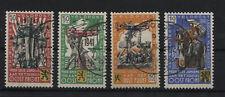2. Weltkrieg(Private Ausgabe) Belgien Flämische Legion V-VIII gestempelt(B06471)