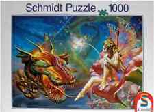 """Jigsaw Puzzles 1000 Pieces """"Beauty and The Dragon""""/  Schmidt"""