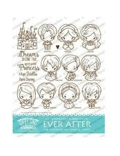 EVER AFTER KIT-The Greeting Farm Rubber Stamp-Stamping Craft-Princess Bean