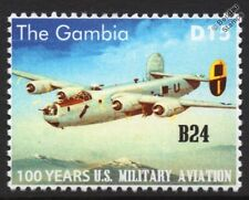 Consolidated B-24 LIBERATOR US Militiary Aviation Aircraft Stamp
