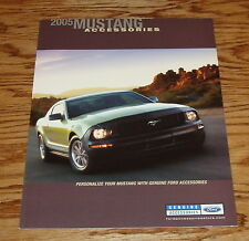 2005 Ford Mustang Accessories Sales Brochure 05