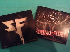 Sound And Fury CD AC:DC Ramones Airbourne Steel Panther Sleaze-Glam-Punk