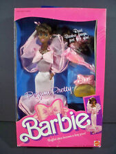NIB BARBIE DOLL 1987 VINTAGE PERFUNE PRETTY BLACK AA