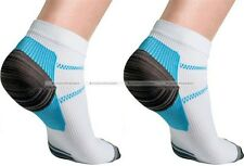 Set For 2 Foot Compression Sports Socks For Plantar Fasciitis Heel Spurs Pain S8