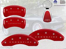 2004-2008 Chrysler Crossfire Red Brake Caliper Cover Front Rear Keychain INSTOCK
