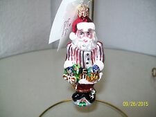 "Christopher Radko ""Ring in the Holidays"" Christmas Ornament"