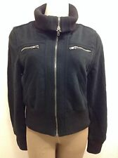 Ambiance Jacket Black Warm Full Zip Womens Large ( See Dimensions) SXS