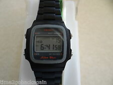 VINTAGE GENTS SEIKO SILVERWAVE DIGITAL LCD WATCH A914-5A50