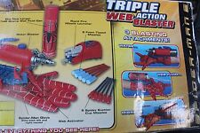 Spider-Man 2 Triple Web Action Shooter Toy Biz