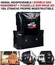 SAC 150L RANGEMENT + POUBELLE! HDJ JEEP PATROL LAND PAJERO L200 HILUX NAVARA KDJ