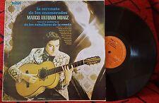 MARCO ANTONIO MUÑIZ **LA SERENATA DE LOS ENAMORADOS** REPUBLICA DOMINICANA LP