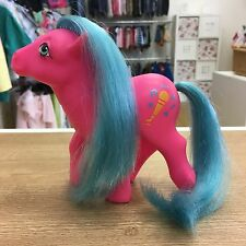 MY LITTLE PONY VINTAGE 1980'S G1 euro esclusivo MELODY * 7 PONY FRIENDS * TALES