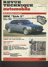 (7A)REVUE TECHNIQUE AUTOMOBILE BMW série 5 / PEUGEOT 309