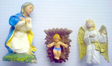 LOT OF 3 VINTAGE NATIVITY STATUES (No.4)