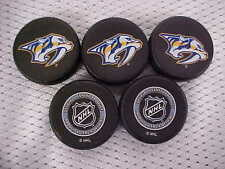 2016 NHL Nashville Predators National Hockey League Mini Puck Charms Lot of (5)