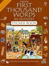 First Thousand Words in Spanish (Spanish Edition), Amery, Heather, Good Book
