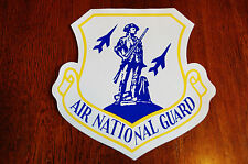Air National Guard Blue Patriotic Window Decal Sticker