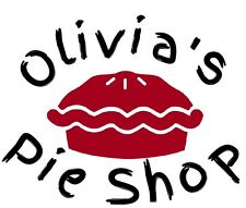 """Personalized Board Game for """"Olivia"""". """"Pass the Pie Please"""". Ages 4-10."""