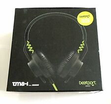 Genuine AIAIAI Hosa TMA-1 TMA1 Beatport Edition Headphones Black and Lime Green
