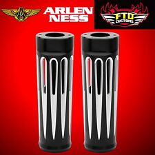 Arlen Ness Fork Boots Deep Cut Plus +2 Black 2017 Harley Road Glide FLTR 20-029