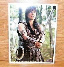 Xena Warrior Princess 1997 Chakram Sword 8 1/2 x 11 Photo - Lucy Lawless *READ*