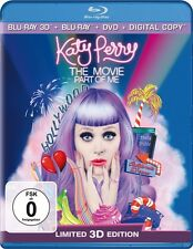 KATY PERRY: PART OF ME 3D SUPERSET  3 BLU-RAY NEU