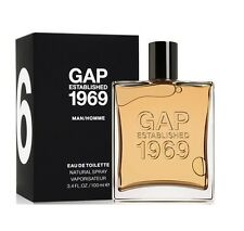 GAP established 1969 for MEN 3.4 oz EDT spray Men's Cologne New 3.3 100ml NIB