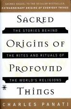 Sacred Origins of Profound Things: Charles Panati 1996 Religion History