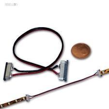 Conector rápido para 2-pin SMD tira LED 15cm Cable, Conector para Tiras