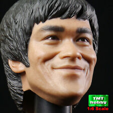 1:6 Scale Hot Toys Bruce Lee in Suit M Icon 011 - Headsculpt