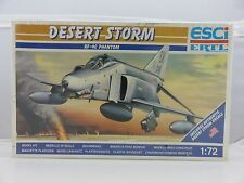 ESCI ERTL RF-4C PHANTOM DESERT STORM 1/72 Scale Plastic Model Kit NEW SEALED